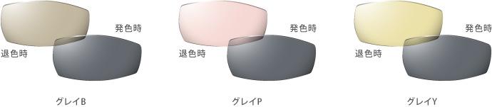 グレイタイプの調光レンズ