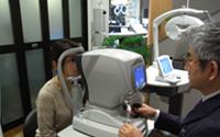 検眼器による検査